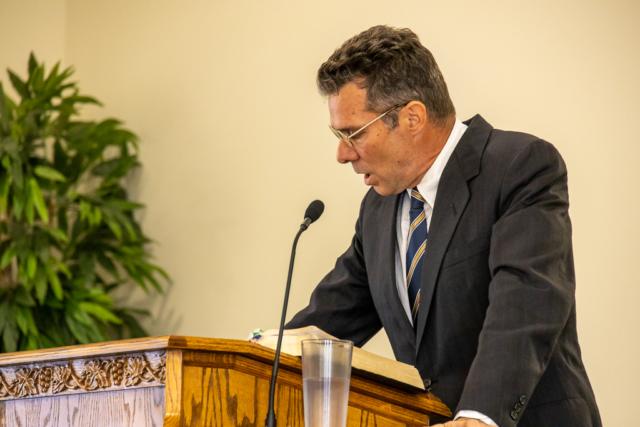 Patrick Joyner Preaching the Message